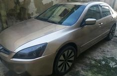 Used Honda Accord 2003 Gold for sale