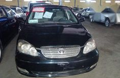 Neatly Used Toyota Corolla 2006 Black for sale