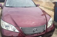 Clean Tokunbo Lexus ES350 2008 Red for sale
