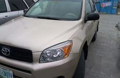 Company Used Toyota Rav4 2007 Gold For Sale