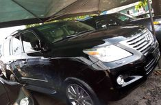 Neat  Black Lexus LX 2015 for sale