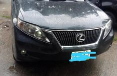 Neat Black Lexus RX 350 2010 for sale