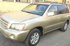 Toyota Highlander 2003 Automatic Petrol for sale
