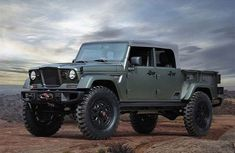 [Hot] Jeep's pickup/SUV – the 2020 Gladiator Off-roader finally unveiled