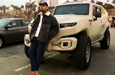 Chris Brown spends ₦127.6 million on a new bulletproof army truck