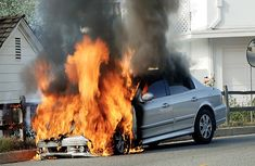 How a bottle of water can set your car ablaze