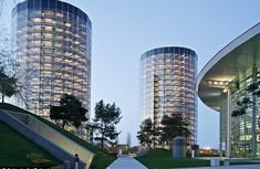 See Volkswagen's giant glass towers that store 800 of its custom-made cars