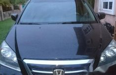 Clean Honda Odyssey 2007 Black for sale