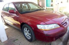 Used Honda Accord 2002 Red for sale