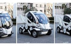 The first self-folding car in the world will solve the issue of parking space