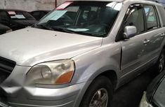 Register Honda Pilot 2006 Silver for sale