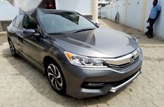 Clean Honda Accord EX 2016 Gray For Sale
