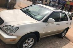 Lexus RX300 2002 White for sale
