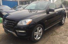 Registered Mercedes Benz ML350 4matic 2012 Black