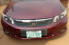 Clean Neatly Used Honda Civic 2014 Red For Sale