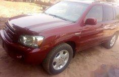 Toyota Highlander 2006 Red for sale