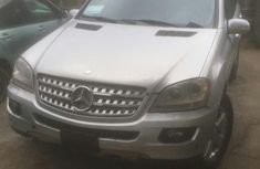 Mercedes-Benz ML 500 2008 Silver for sale