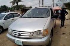 Toyota Sienna 2002 Silver for sale