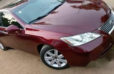 Clean Lexus ES350 2007 Red for sale
