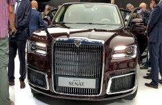 Watch video of 2019 Aurus Senat - the car model Putin's riding