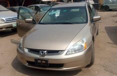 Tokunbo Honda Accord 2004 Gold for sale