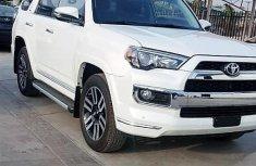 Toyota 4-runner 2018 White for sale