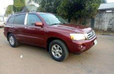 Toyota Highlander 2005 Red For Sale