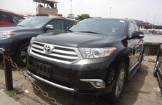 Extremely Clean Tokunbo Toyota Highlander 2012