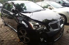 2009 Black Pontiac Vibe Automatic Petrol well maintained for sale