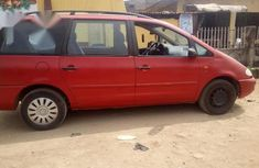 Volkswagen Sharan 2000 Red for sale