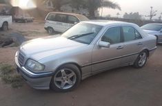 Mercedes-Benz C200 2002 Silver for sale