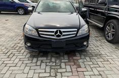 2008 Mercedes-Benz C300 Automatic Petrol well maintained Black for sale