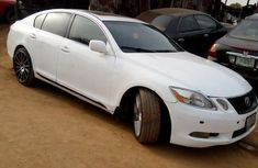 Lexus GS 300 2006 White for sale