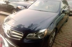 2016 Mercedes-Benz E350 Blue for sale in Lagos