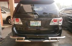 2014 Toyota Fortuner Black for sale in Lagos