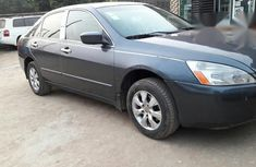 Clean Honda Accord 2004 Gray For Sale