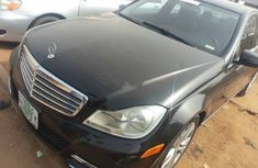 2012 Black Mercedes-Benz C300 3000 Automatic for sale at best price
