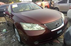 Almost brand new Lexus ES Petrol 2008 brown for sale