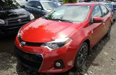 Almost brand new 2015 Red Toyota Corolla Petrol for sale