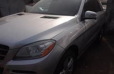 Used Mercedes-Benz Ml350 2013 Silver for sale