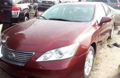 Lexus ES 2010 Red for sale