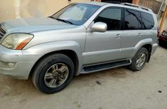 A Super Clean Nigerian Used Lexus Gx470 2004 Gray for sale