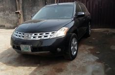 Nissan Murano 2004 Black For Sale