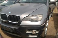 Clean BMW X6 2009 Gray for sale