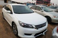 Clean Honda Accord 2014 White for sale
