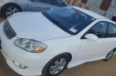 2005 Toyota Corolla Sport White for sale