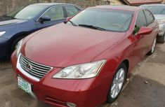 Lexus Es350 2009 Red for sale