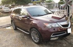 Acura MDX 2012 Red for sale
