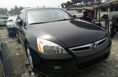 Honda Accord 2007 Petrol Automatic Black