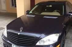 Mercedes Benz S550 2007 Blue for sale
